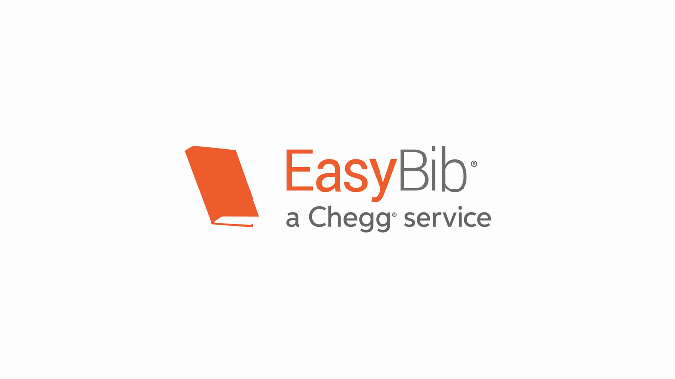 Screen shot of EasyBib